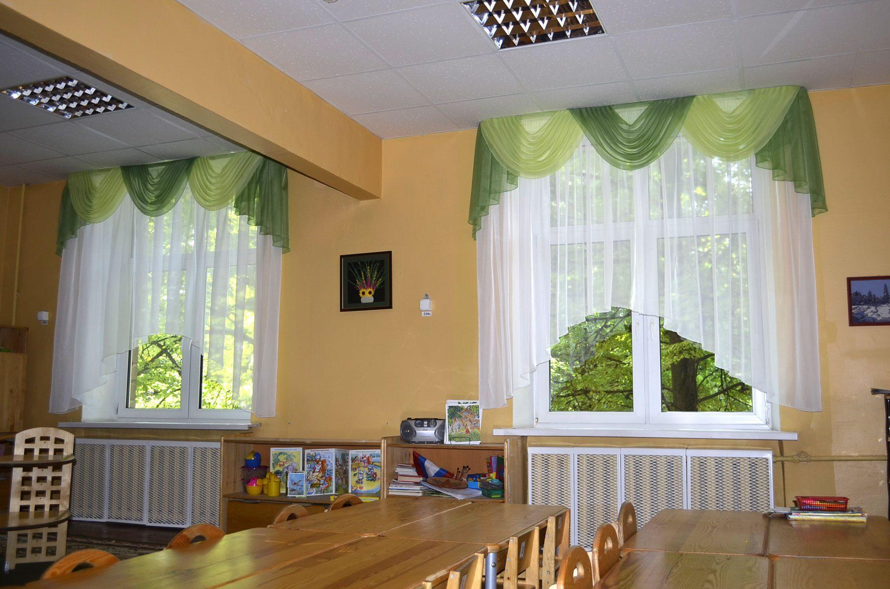 Сшить шторы для школы